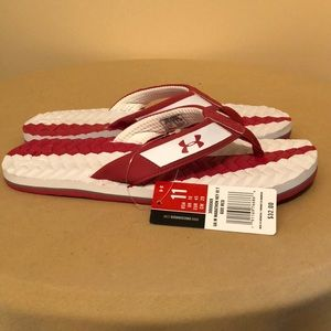 66b12770ae39 Under Armour Shoes - UNDER ARMOUR MARATHON KEY III men s flip flops NWT